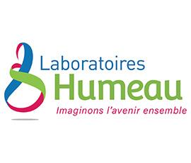 Nouveau logo Laboratoires Humeau