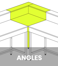 Angles de paillasses
