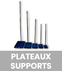 Plateaux supports