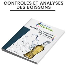 Catalogue Contrôles et Analyses des Boissons