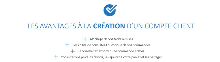FAQ Humeau Création compte client