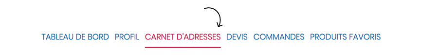 FAQ Humeau Adresses espace client